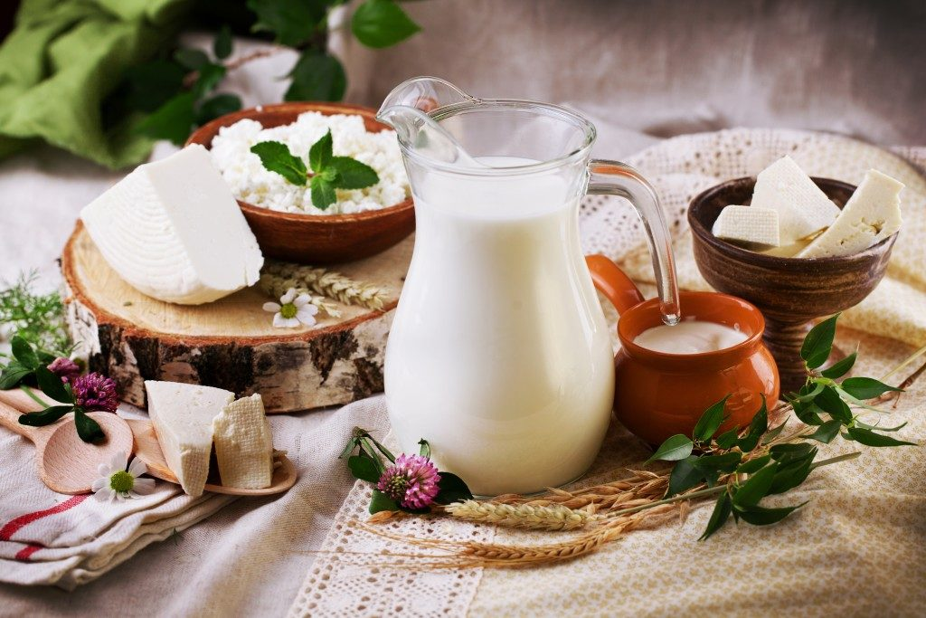 Rustic dairy products