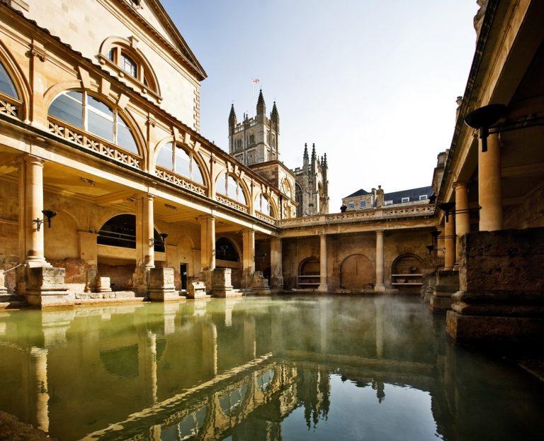old communal bath