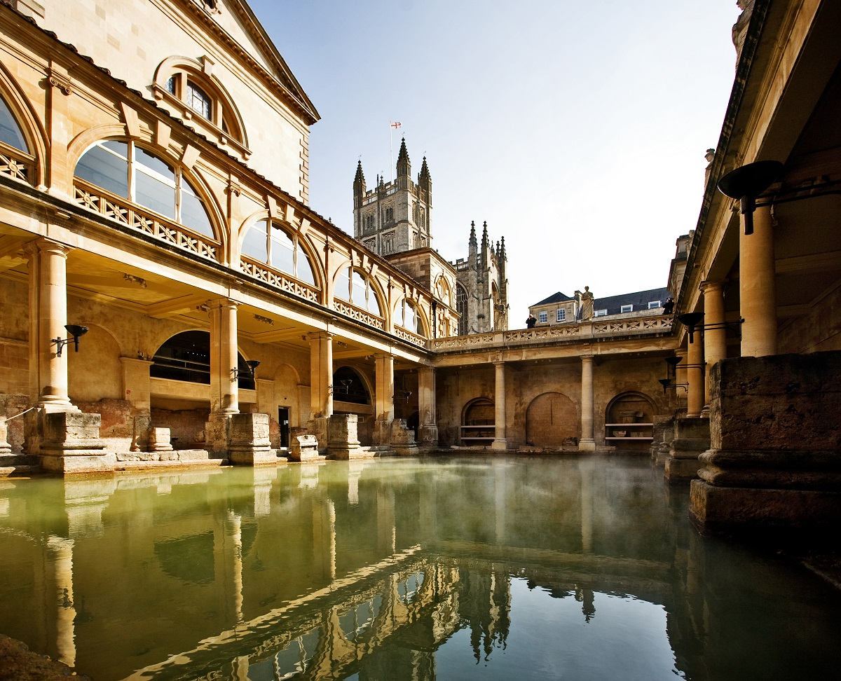 Soak in History in These Historic Baths